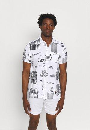 FC - Shirt - white/black