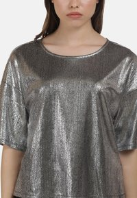myMo at night - Blouse - silber - 3