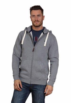 NEW SIGNATURE - Zip-up sweatshirt - grey marl