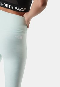 The North Face - W DUNE SKY 7/8 TIGHT - Leggings - Trousers - misty jade heather - 1