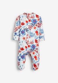 Next - 3 PACK FLORAL  - Sleep suit - red - 4