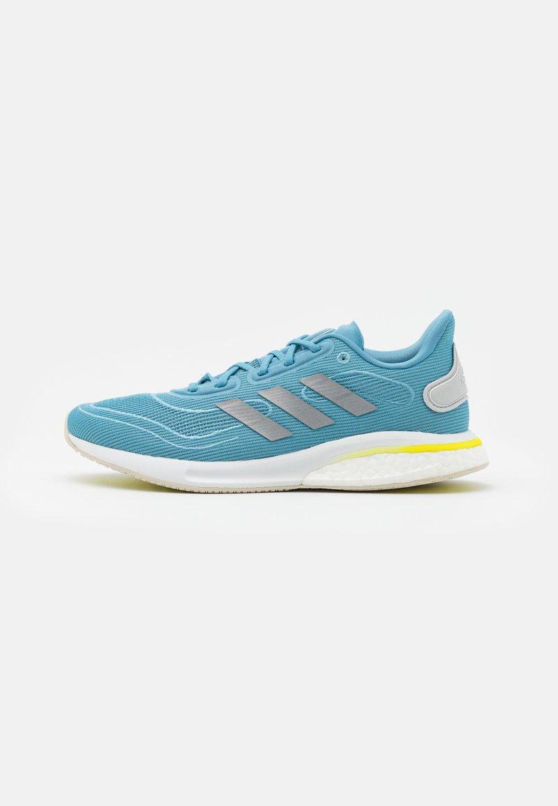adidas Performance - SUPERNOVA - Neutral running shoes - haze blue/acid yellow