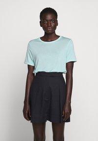 Bruuns Bazaar - KATKA ALICIA TEE - Basic T-shirt - dream blue - 0