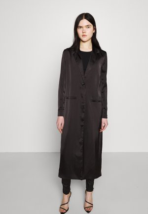 MAXI DUSTER - Trenchcoat - black