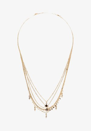 5 PACK - Necklace - gold coloured