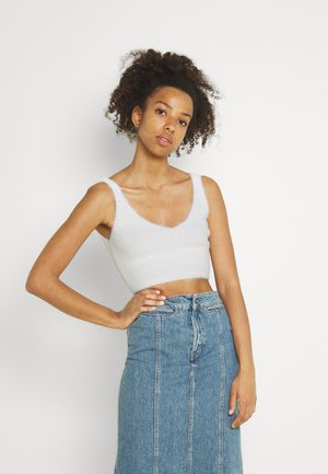 JANNI HAIRY TANK - Top - offwhite