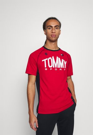 ICONIC TEE - Sports shirt - red
