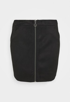 VMDONNAZIPPER - Mini skirt - black