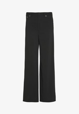 TUXEDO TROUSER - Spodnie materiałowe - black
