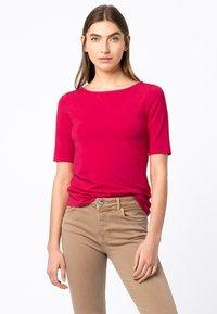 HALLHUBER - Basic T-shirt - cyclam - 0