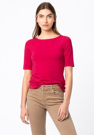 Basic T-shirt - cyclam