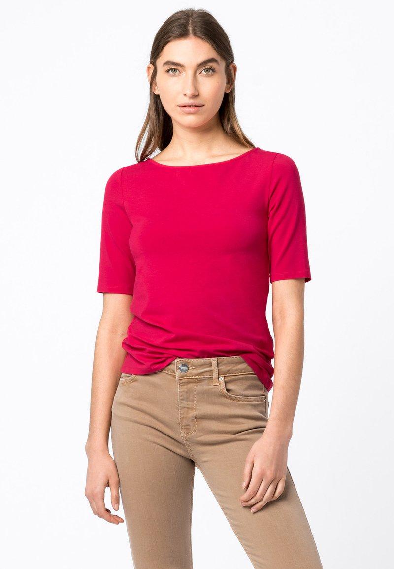 HALLHUBER - Basic T-shirt - cyclam