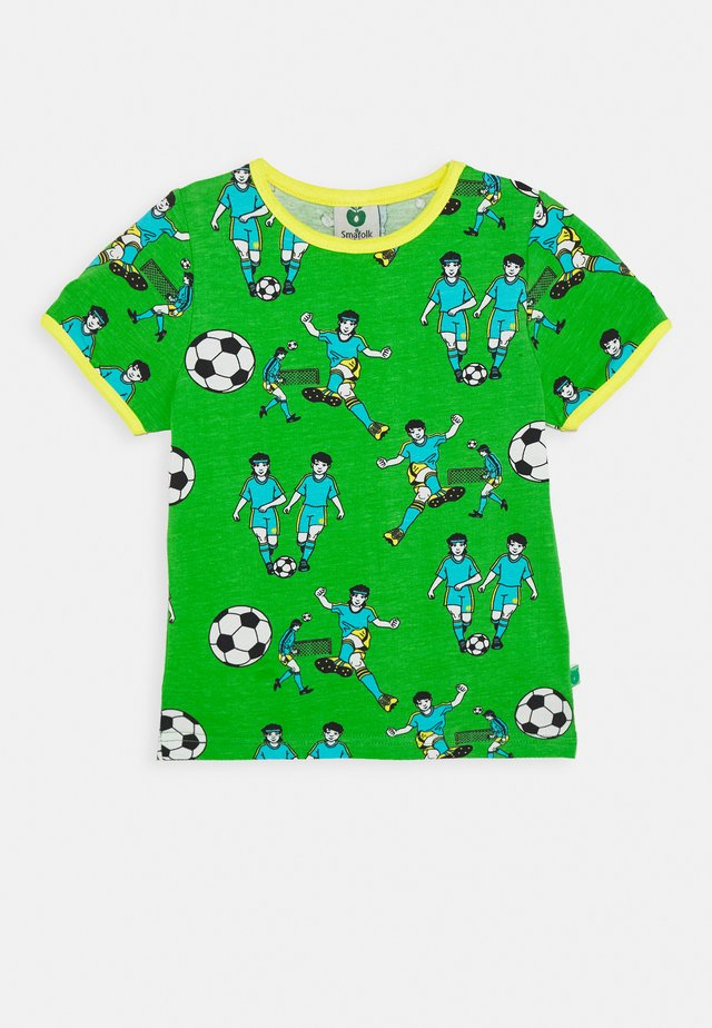 FOOTBALL - T-shirt con stampa - green