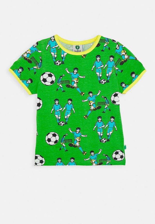 FOOTBALL - Camiseta estampada - green