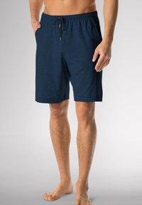 mey - SCHLAFHOSE KURZ - Pyjama bottoms - yacht blue - 0