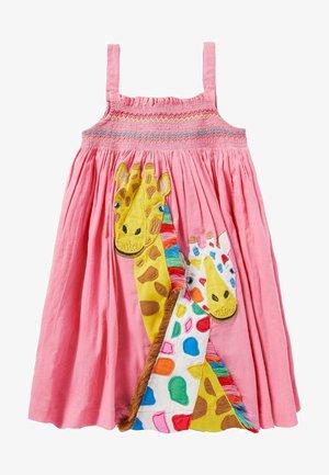MIT FRÖHLICHER APPLIKATION - Day dress - pflaumenblütenrosa, giraffe