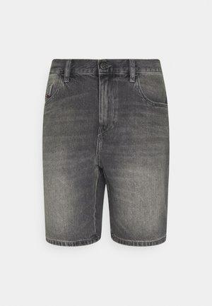 Jeansshorts - washed black