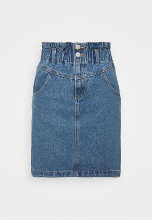 VIMAZEL SKIRT - Denimová sukně - light blue denim