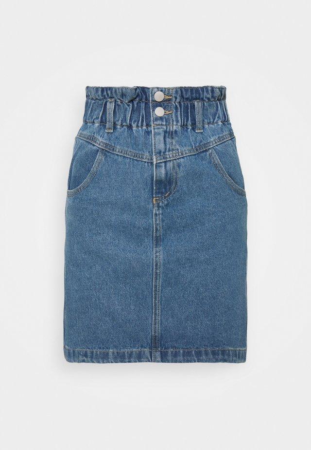 VIMAZEL SKIRT - Denim skirt - light blue denim