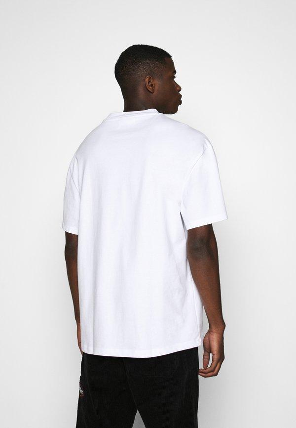 Weekday GREAT - T-shirt basic - white/biały Odzież Męska EQOG