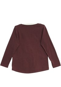 Wheat - Long sleeved top - purple - 1