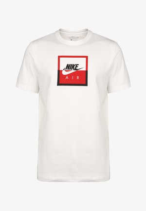 AIR SSNL - Print T-shirt - white / black
