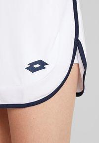 Lotto - SQUADRA SKIRT - Sportovní sukně - brilliant white - 5
