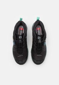 Salomon - X ULTRA 4 GTX - Hiking shoes - black/stormy weather/opal blue - 3