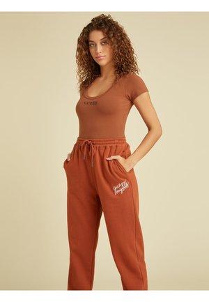 BODY LOGO VORN - T-shirt print - orange