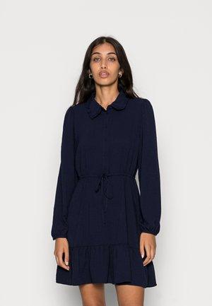ONLLIA SHORT DRESS - Shirt dress - evening blue