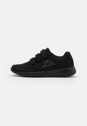 FOLLOW UNISEX - Sports shoes - black/grey