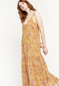 LolaLiza - FLOWER PRINT - Maxi dress - yellow - 4