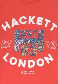 Hackett London - Print T-shirt - hibiscus - 2