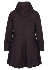 Zizzi - MIT WOLLE - Short coat - bordeaux - 1