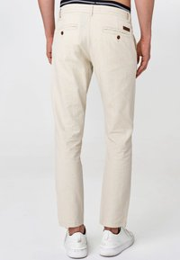 INDICODE JEANS - BOULWARE - Trousers - fog - 2