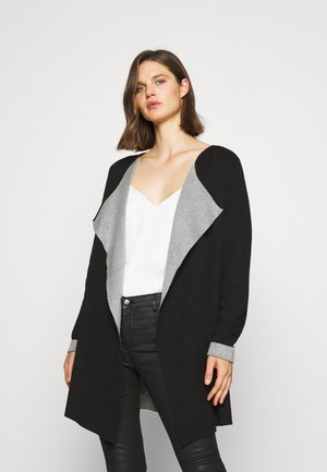 KABARBRO  - Cardigan - black/light grey