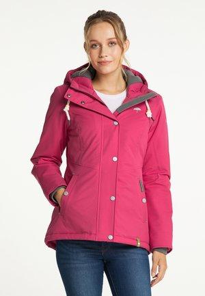 Winter jacket - dunkelpink
