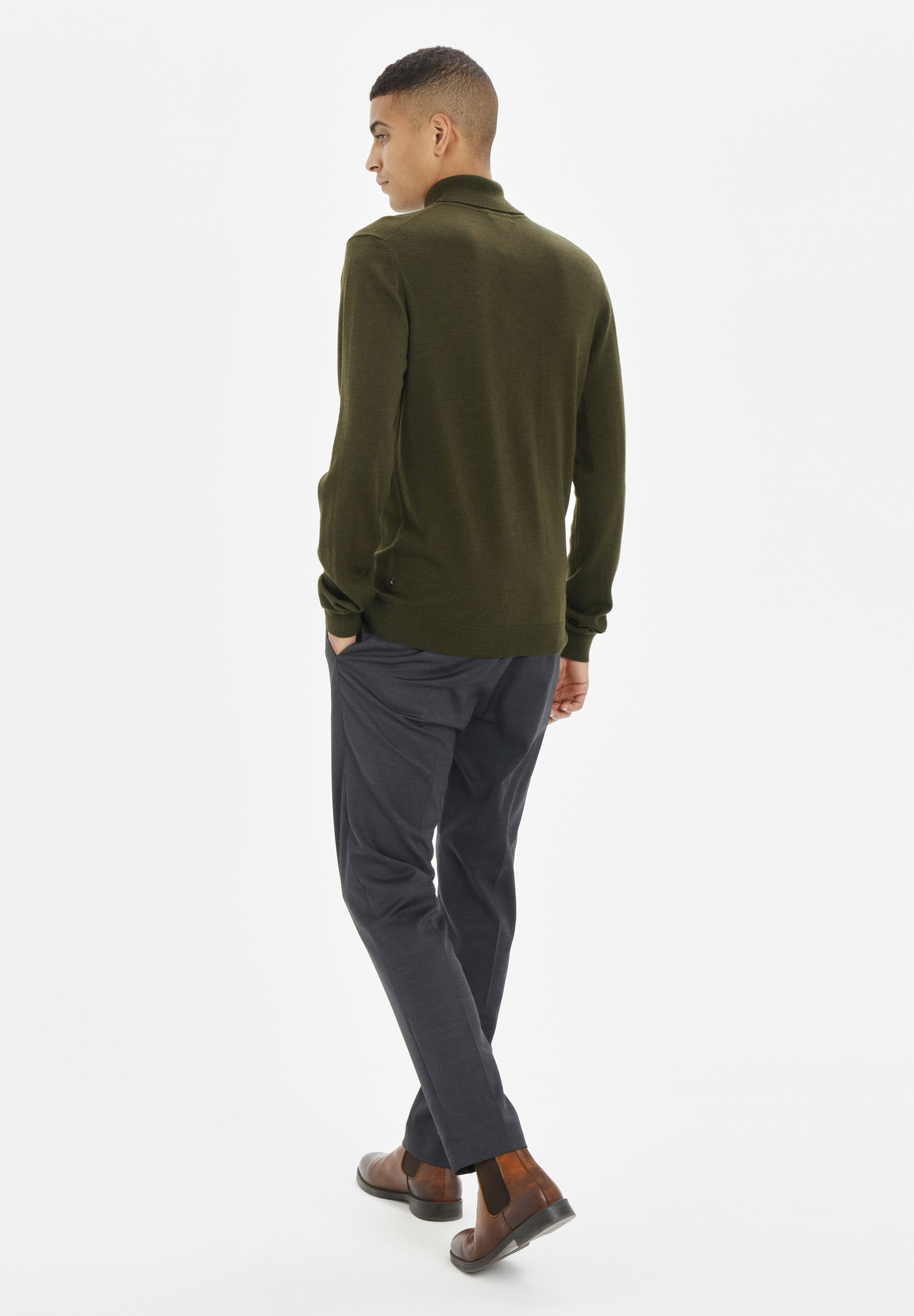 Matinique Pullover - moss green