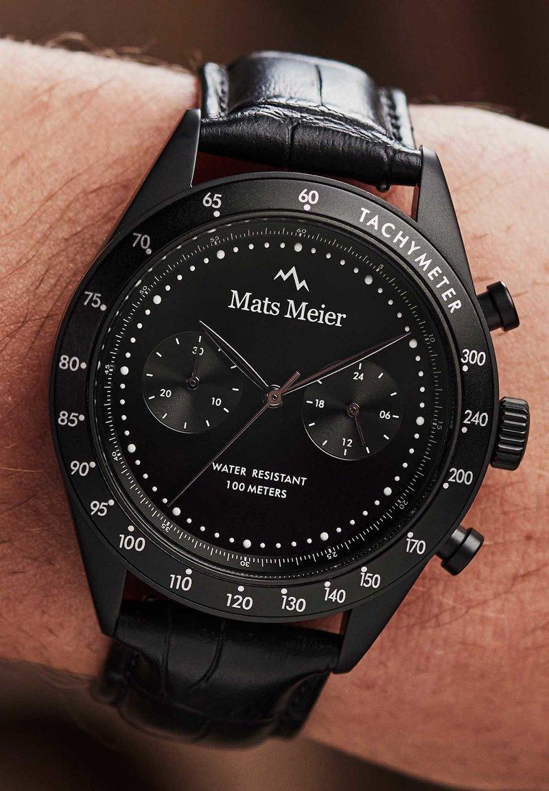 Mats Meier - Chronograph watch - schwarz