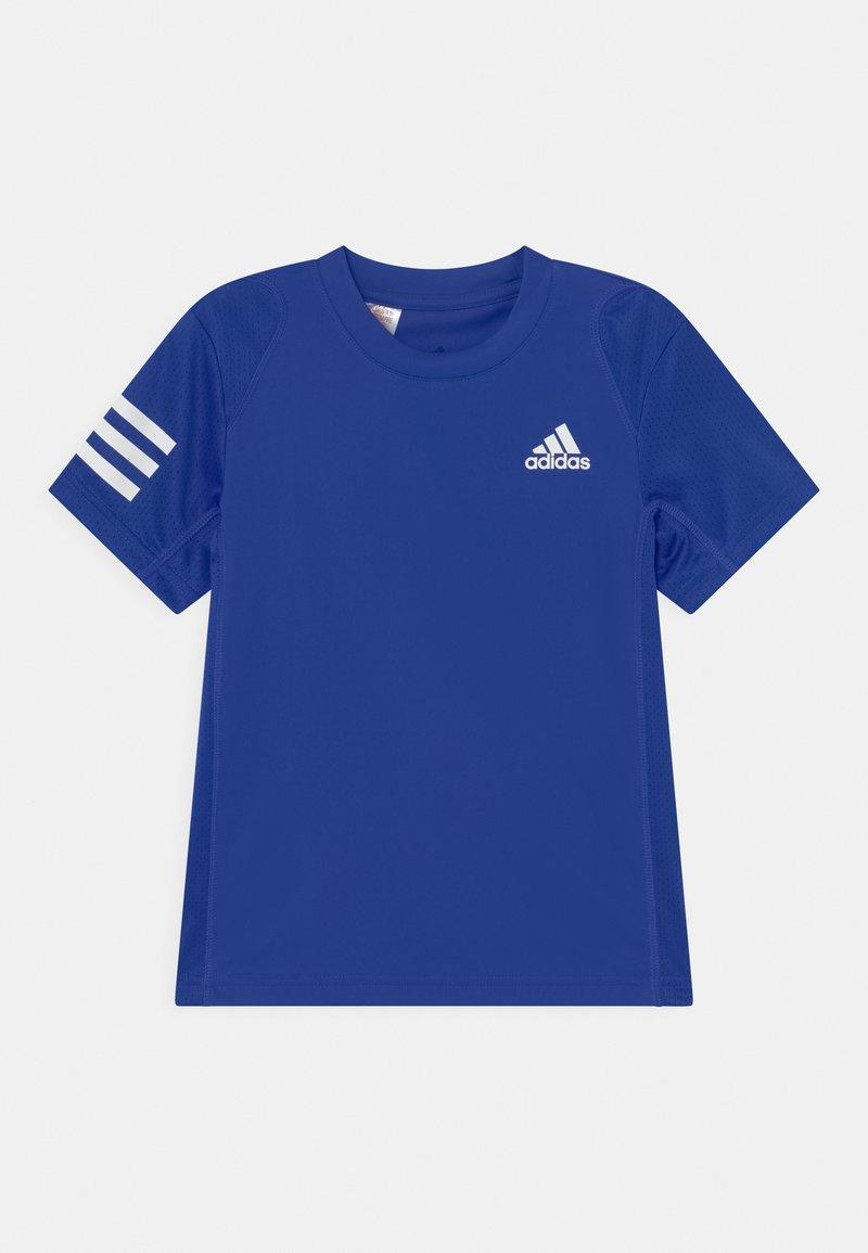 adidas Performance - CLUB UNISEX - Printtipaita - bold blue/white