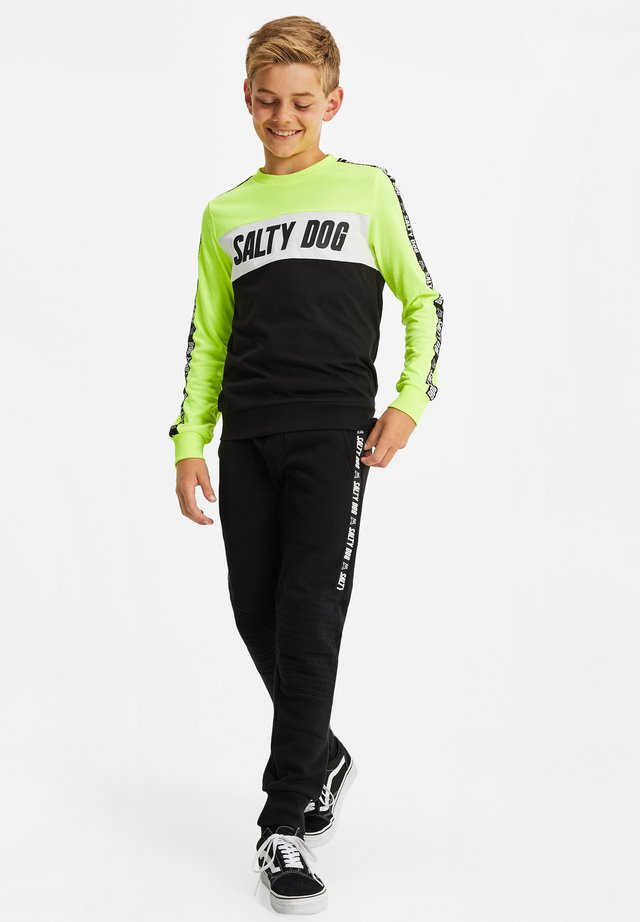 SALTY DOG - Pantaloni sportivi - black