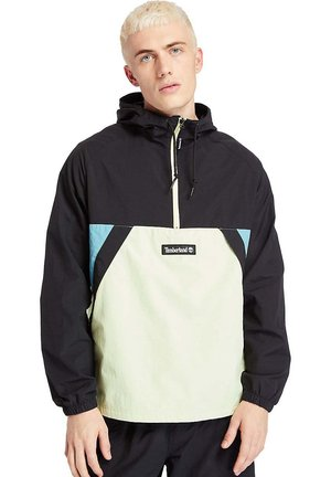 Windbreaker - black/luminary green