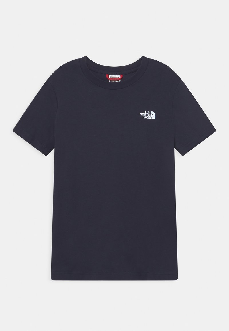 The North Face - GRAPHIC TEE  - Printtipaita - navy