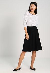 Noa Noa - ESSENTIAL - A-line skirt - black - 1