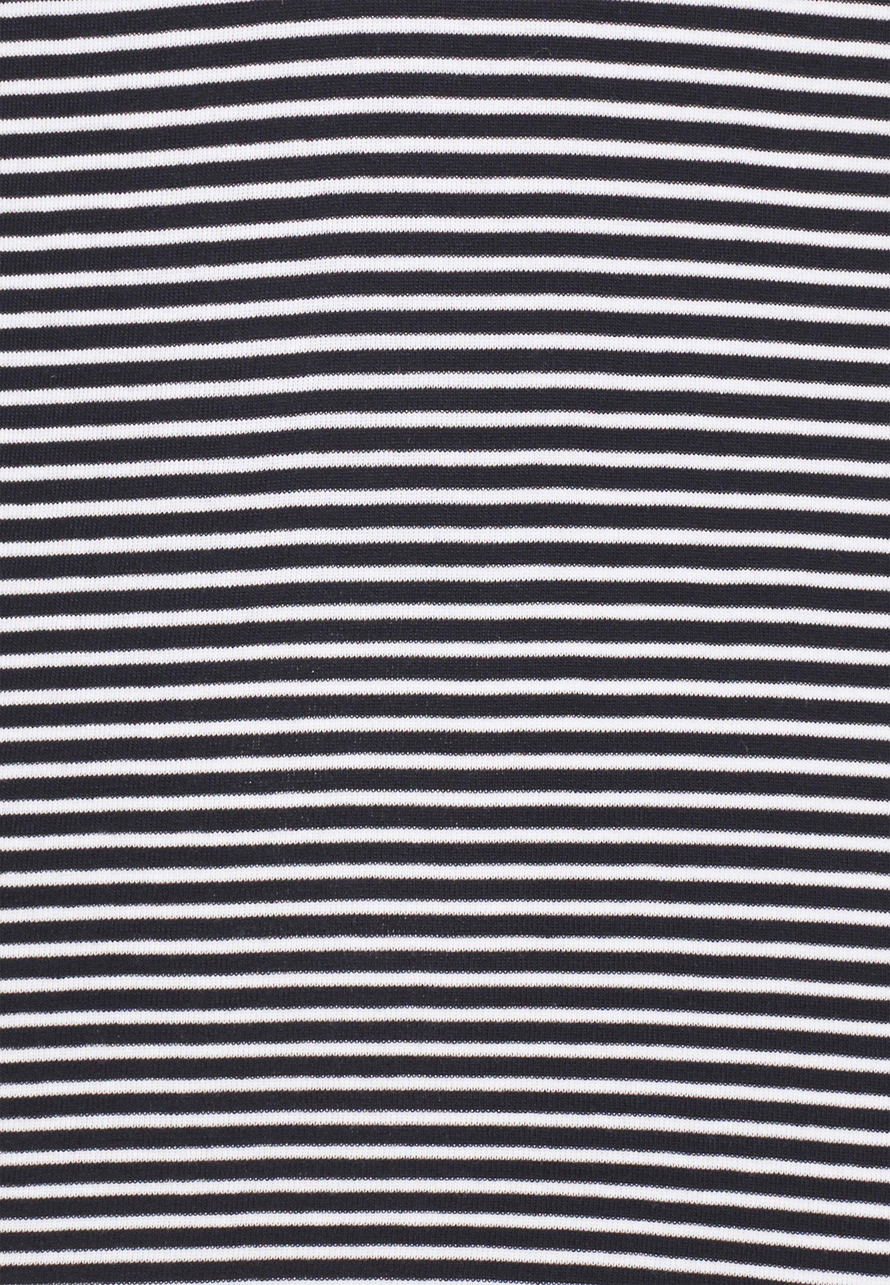Edc By Esprit Core Stripe - Topper Langermet Navy/mørkeblå