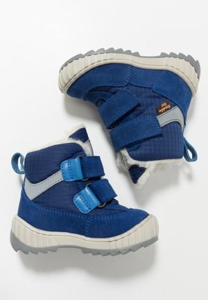 SNOW TEX DOUBLE MEDIUM FIT - Zimní obuv - blue electric