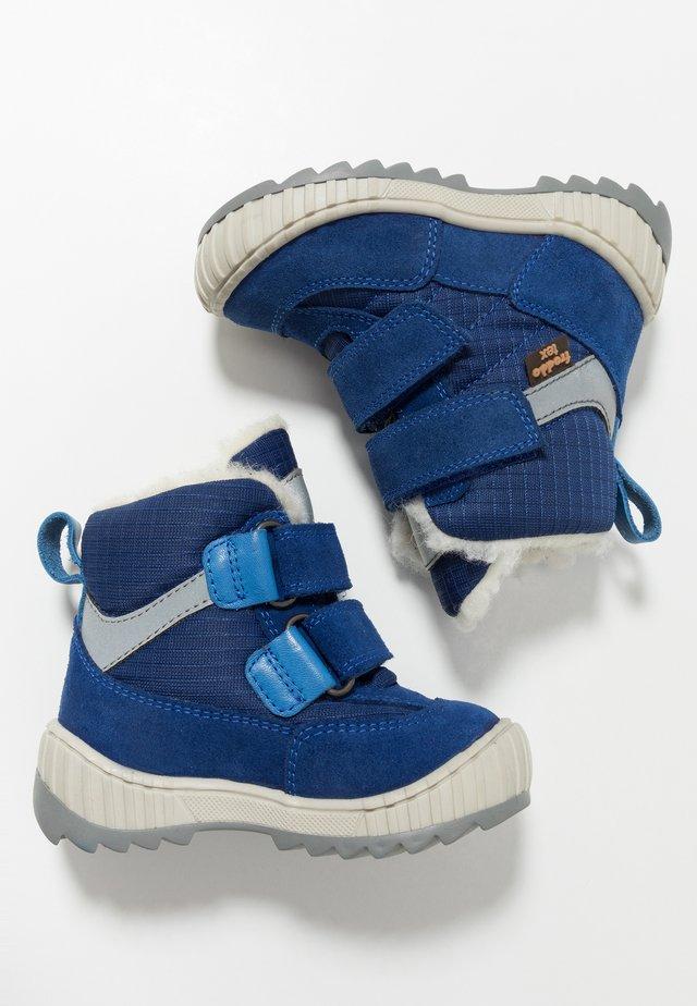 SNOW TEX DOUBLE MEDIUM FIT - Vinterstøvler - blue electric