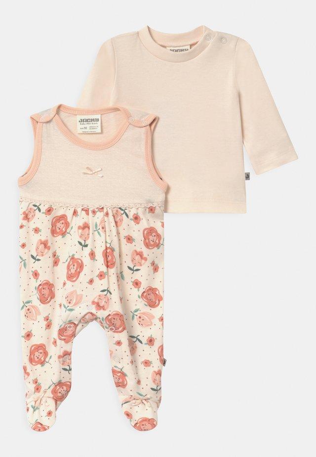 MIDSUMMER - Pyjama set - light pink/white