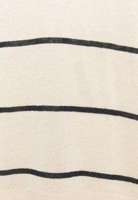 Selected Femme - Jumper - sandshell/dark sapphire - 2