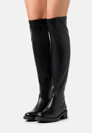 BIAPEARL LONG BOOT - Ylipolvensaappaat - black
